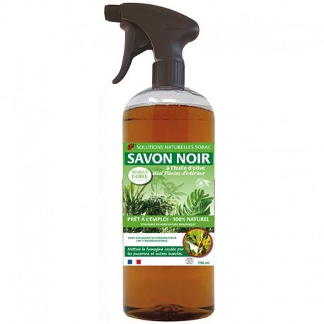 Savon noir spray Plantes d'intérieur - 750 ml